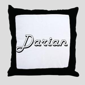 Darian Classic Style Name Throw Pillow