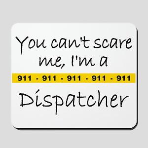 Police Tape Dispatcher Mousepad