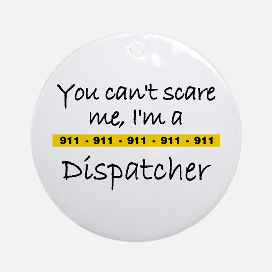 Police Tape Dispatcher Ornament (Round)
