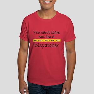 Police Tape Dispatcher Dark T-Shirt