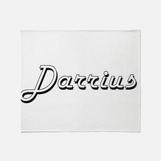Darrius Classic Style Name Throw Blanket