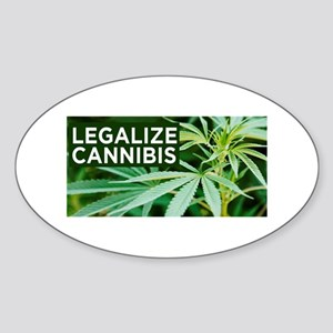 Legalize Weed Sticker