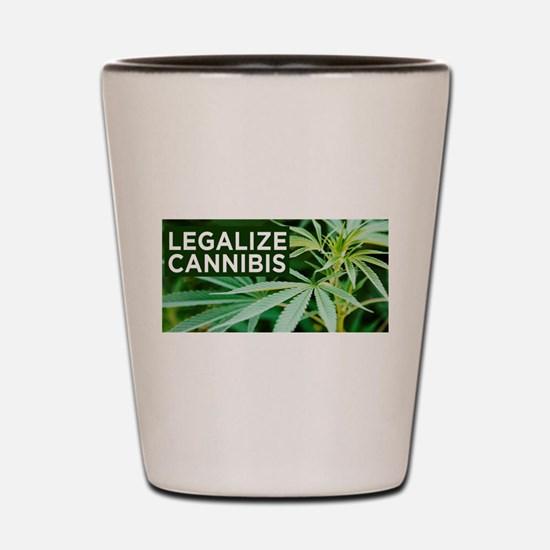 Legalize Weed Shot Glass