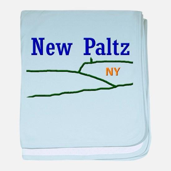 New Paltz Mohonk baby blanket
