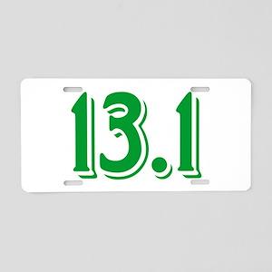 13.1 Half Marathon Aluminum License Plate