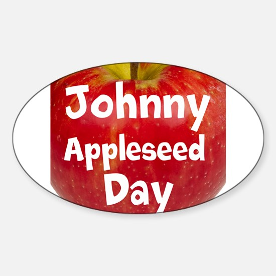 Johnny Appleseed Day Decal