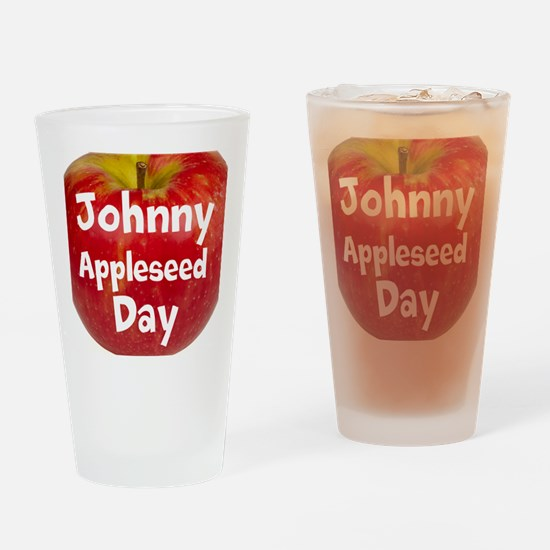 Johnny Appleseed Day Drinking Glass