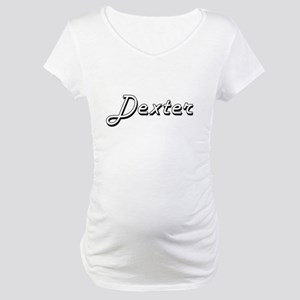 Dexter Classic Style Name Maternity T-Shirt
