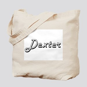 Dexter Classic Style Name Tote Bag