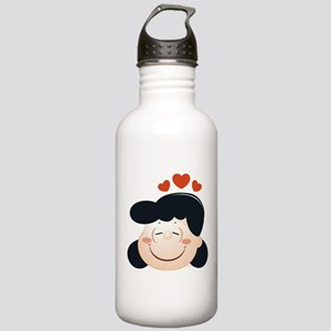 Peanuts Lucy Hearts Stainless Water Bottle 1.0L