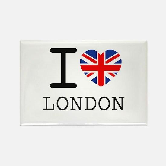 I love london2 Magnets
