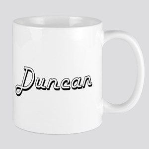 Duncan Classic Style Name Mugs