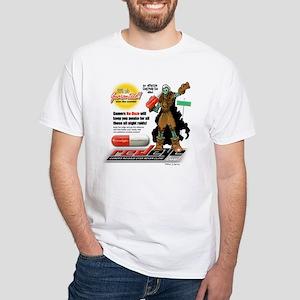 """Gamers, T-Shirts"" White T-Shirt"