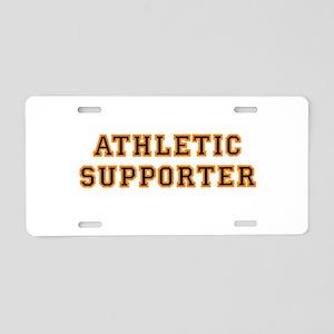 supporter Aluminum License Plate