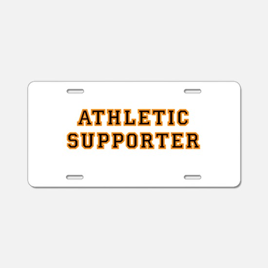 supporter.png Aluminum License Plate