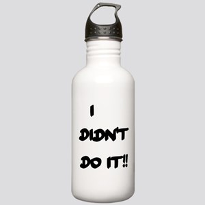 I DIDN'T DO IT Stainless Water Bottle 1.0L