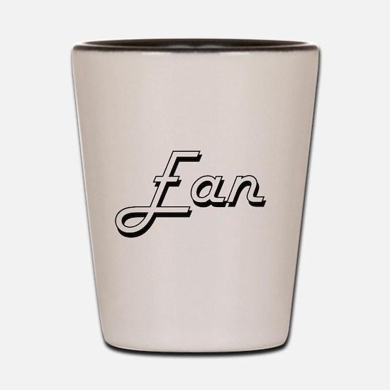 Ean Classic Style Name Shot Glass