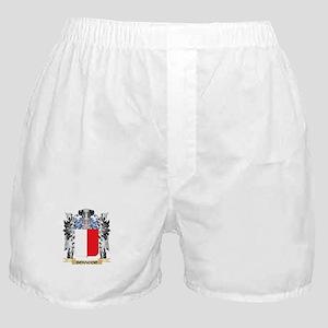 Bonaccio Coat of Arms - Family Crest Boxer Shorts