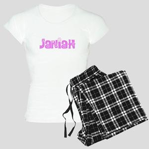 Janiah Flower Design Pajamas