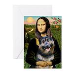 Mona's G-Shepherd Greeting Cards (Pk of 10)