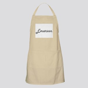 Emerson Classic Style Name Apron
