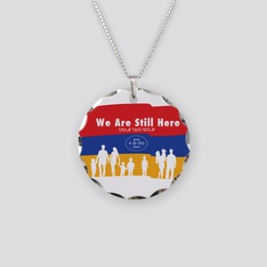 Armenian Genocide Necklace Circle Charm