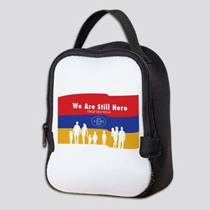 Armenian Genocide Neoprene Lunch Bag