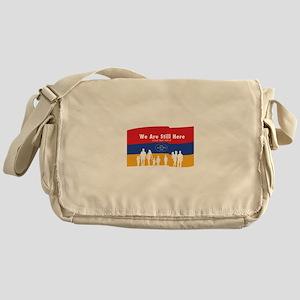 Armenian Genocide Messenger Bag