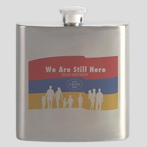 Armenian Genocide Flask