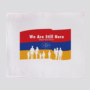 Armenian Genocide Throw Blanket