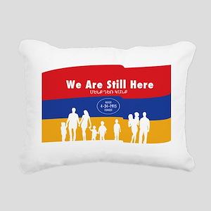 Armenian Genocide Rectangular Canvas Pillow