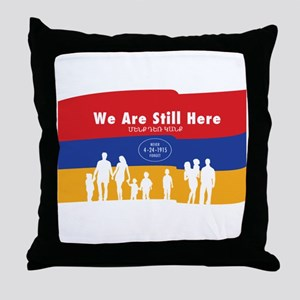 Armenian Genocide Throw Pillow