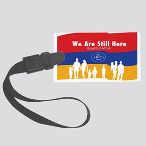 Armenian Genocide Large Luggage Tag