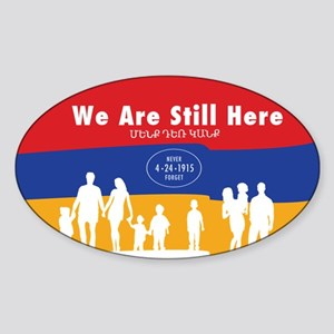 Armenian Genocide Sticker