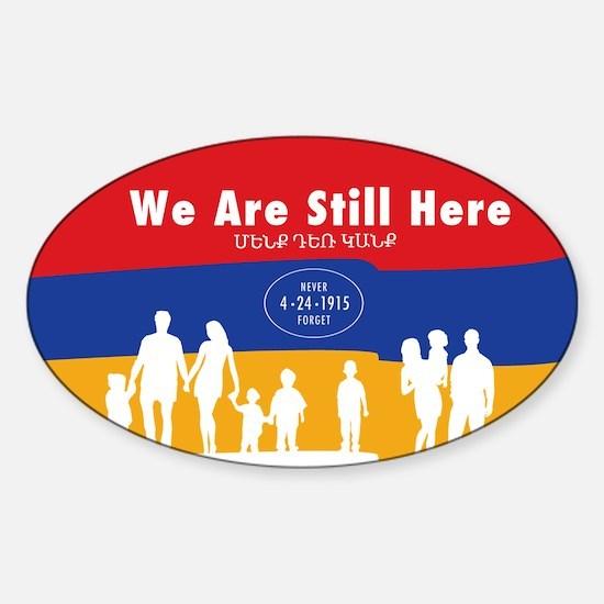 Armenian Genocide Decal