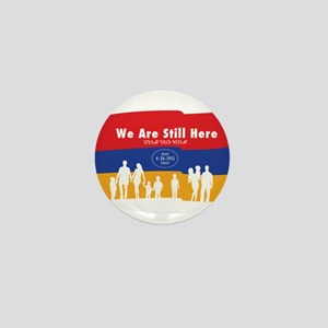 Armenian Genocide Mini Button