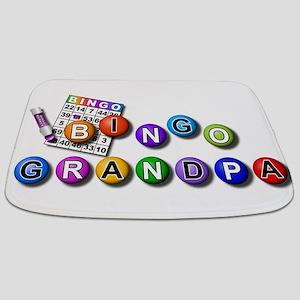 bingo playing grandpa Bathmat