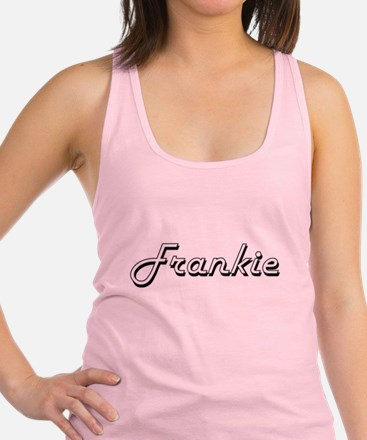Frankie Classic Style Name Racerback Tank Top