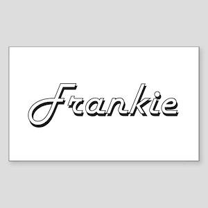 Frankie Classic Style Name Sticker