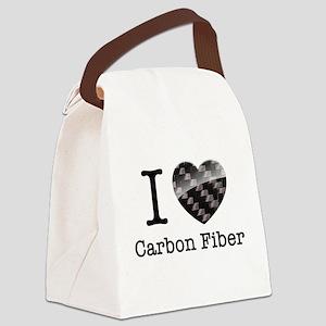 I love Carbon Fiber Canvas Lunch Bag