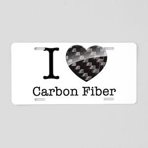 I love Carbon Fiber Aluminum License Plate
