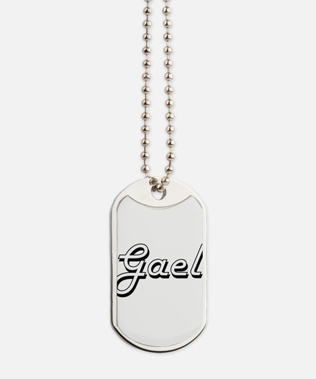 Gael Classic Style Name Dog Tags