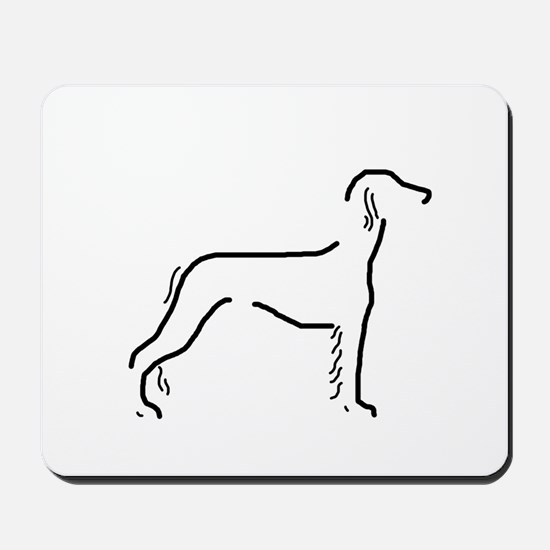 Saluki Sketch Mousepad