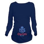 Princess Charlotte Long Sleeve Maternity T-Shirt