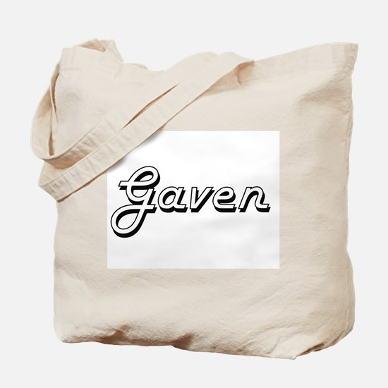 Gaven Classic Style Name Tote Bag