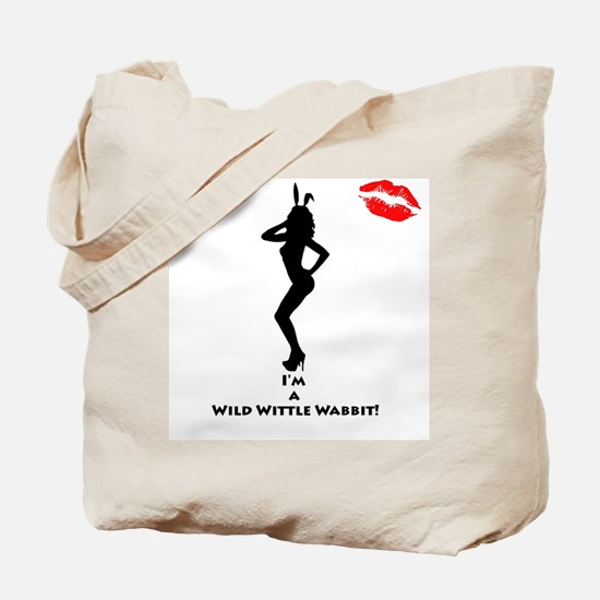 Sexy Playboy Bunny Tote Bag