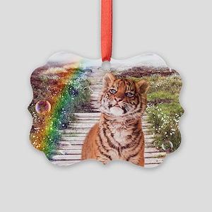 Tigers soap bubbles Ornament