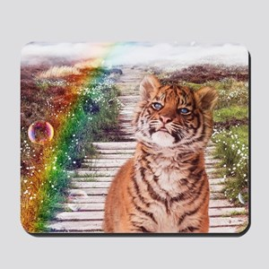 Tigers soap bubbles Mousepad