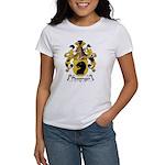 Plessinger Family Crest Women's T-Shirt