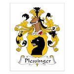 Plessinger Family Crest Small Poster